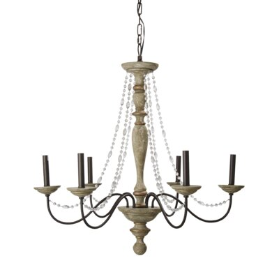 Pasternak 6-Light LED Candle-Style Chandelier