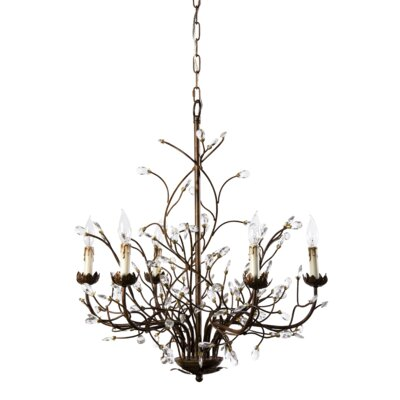 Riccardo 6-Light Candle-Style Chandelier