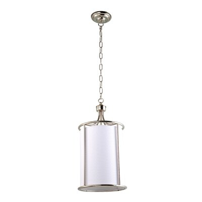 Urich 1-Light Drum Pendant