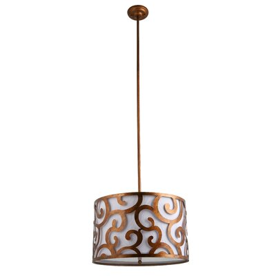 Beachmont 3-Light Drum Pendant