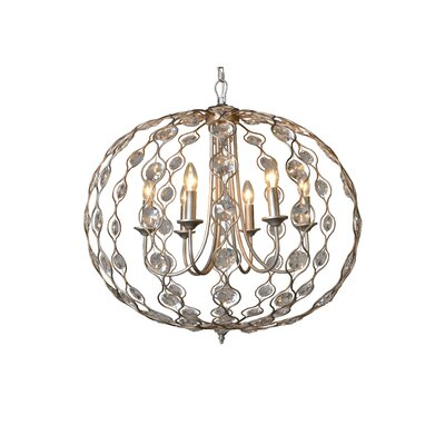 Boddington 6-Light Candle-Style Chandelier