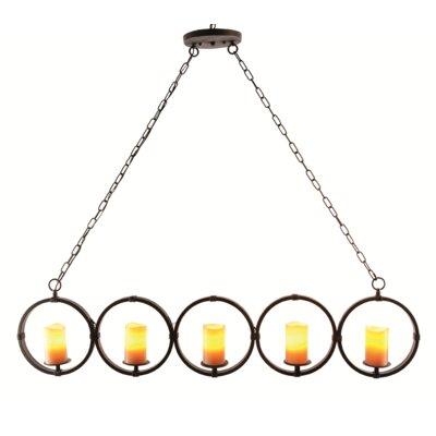 Otsego 5-Light Candle-Style Chandelier