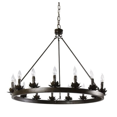 Ballymena 12-Light Candle-Style Chandelier