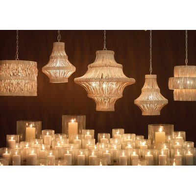 Papillion 3-Light Pendant Finish: Natural