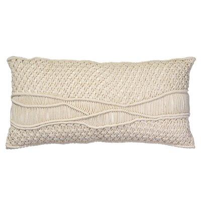 Gunnison Lumbar Pillow Color: Cream