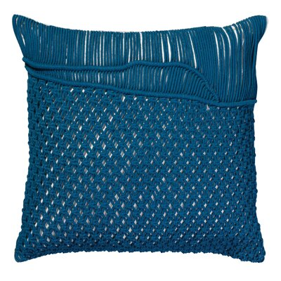 Kunkle Throw Pillow Color: Navy