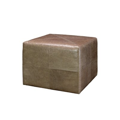 Rudisill Large Cube Ottoman Upholstery: Taupe