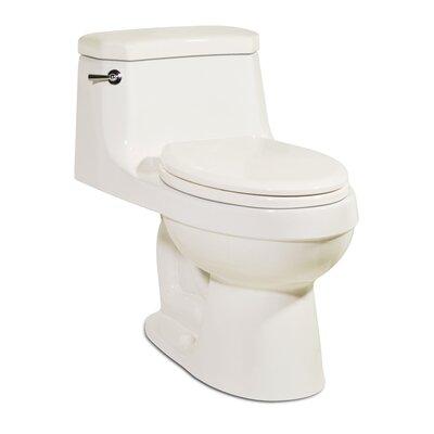 Palermo 1.28 GPF Elongated One-Piece Toilet Finish: Balsa