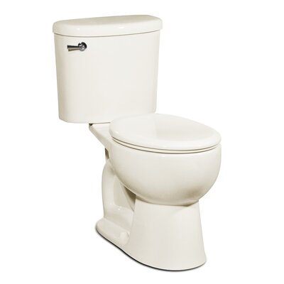 Palermo 1.28 GPF Round Two-Piece Toilet Finish: Balsa