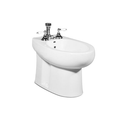 Palermo 16.38 Floor Mount Bidet Finish: White