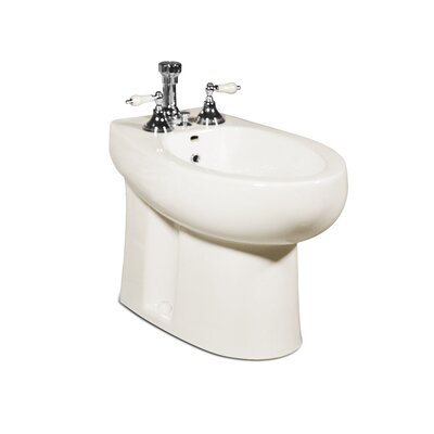 Palermo 16.38 Floor Mount Bidet Finish: Balsa