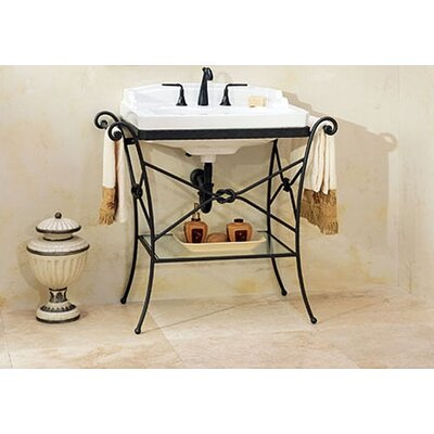 bathroom sink console table interior decorating