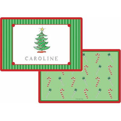 The Kids Tabletop Christmas Tree Placemat