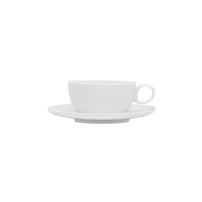 Red Vanilla Everytime 3 oz. Espresso Cup and Saucer ET1908/09/6