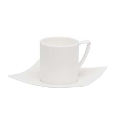 Red Vanilla Berner 8 oz. Coffee Cup and Saucer EW3413/14/6