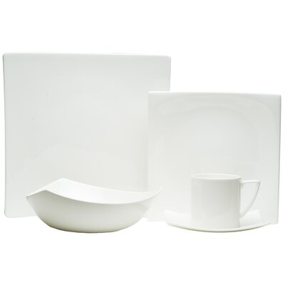 Extreme Bone China 4 Piece Place Setting, Service for 1 EW3400-905