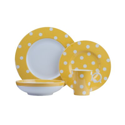 Freshness 4 Piece Place Setting Color: Yellow FDY20-904C