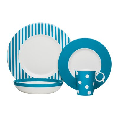 Bessie Porcelain 4 Piece Place Setting FMT40-904