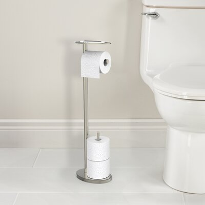 Better Living Products Ovo Free Standing Toilet Caddy