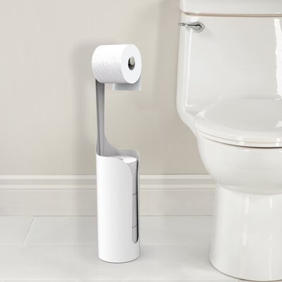 Better Living Products Yin Yang Free Standing Toilet Caddy