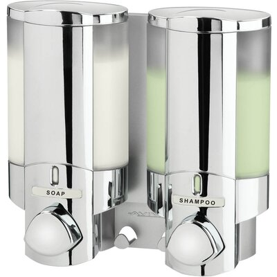 Aviva II Soap Dispenser with Translucent Bottle Lock: Yes