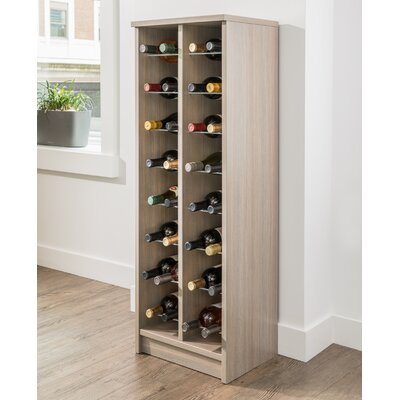 32 Bottle Floor Wine Bottle Rack