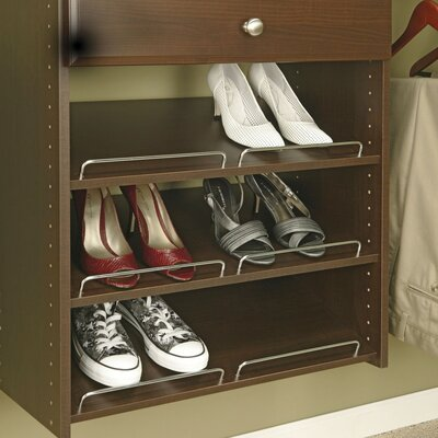 Closet Organizers 3 Shoe Shelves