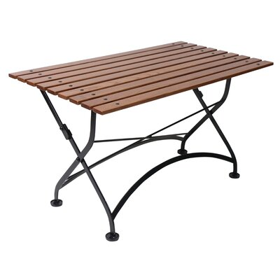 French Bistro European Caf� Folding Coffee Table