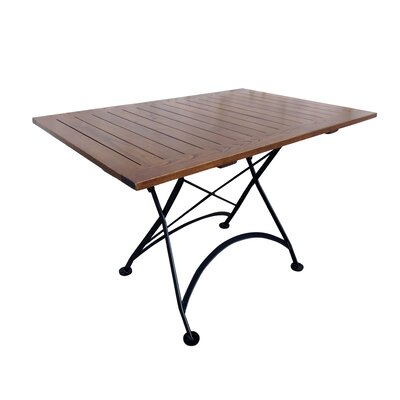 French Caf� Folding Bistro Table