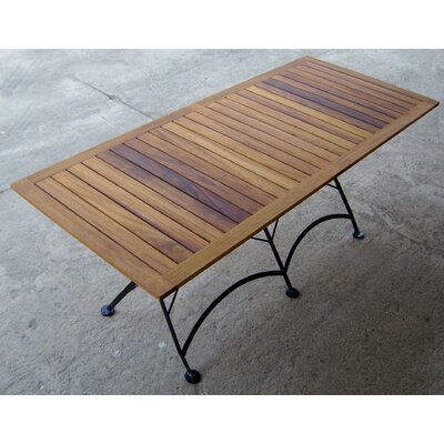 European Caf�  32 x 72 Folding Table