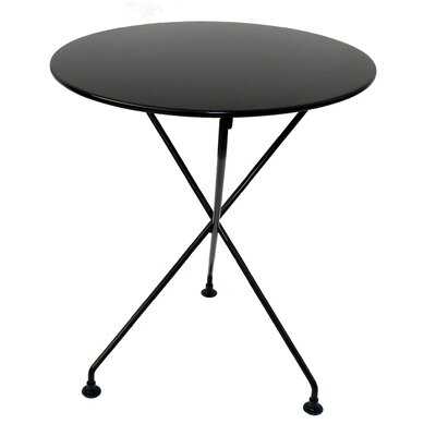 European Caf� Round Folding Table