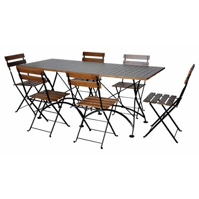 European Caf� 7 Piece Dining Set