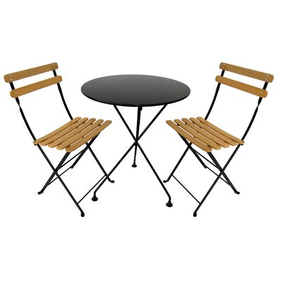 European Caf� 3 Piece Dining Set