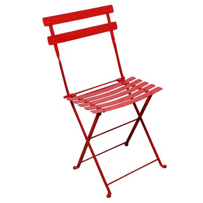 Furniture Designhouse French Bistro European Caf� Folding Side Chair - Frame Color: Flame Red (Set of 2) at Sears.com