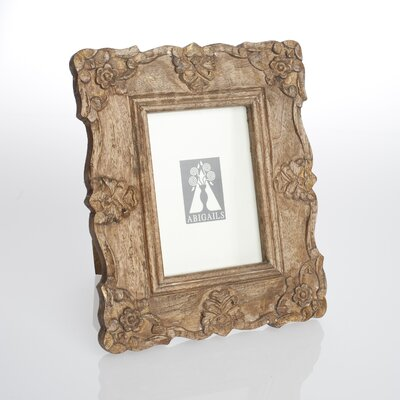 Provence Natural Patina Wood Picture Frame