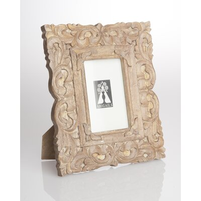 Provence Carved Scroll Wood Picture Frame