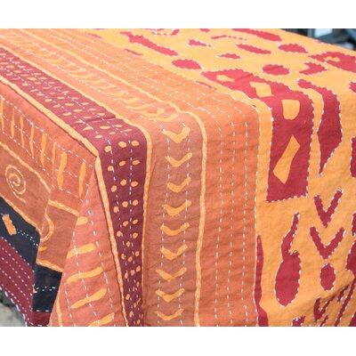 Bali Batik Brick Handstiched Quilt