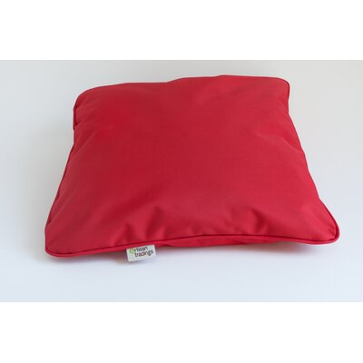 Outdoor Pillow Cover Color: Red