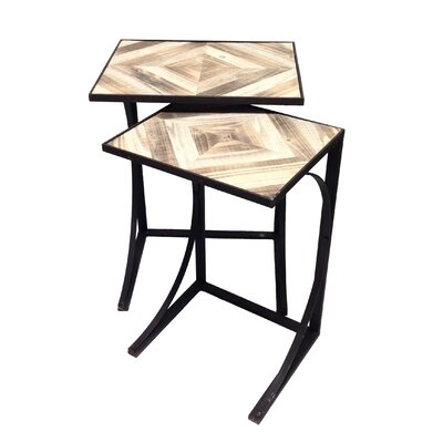 Lumberton 2 Piece Nesting Table