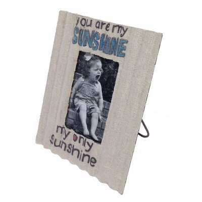 Picture It Inspirational Corrugated Tin Picture Frame 30111