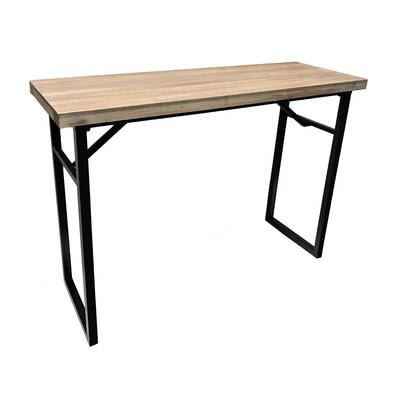 Calie Metal Console Table