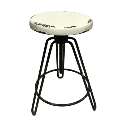 Pickell 36 Adjustable Height Swivel Bar Stool