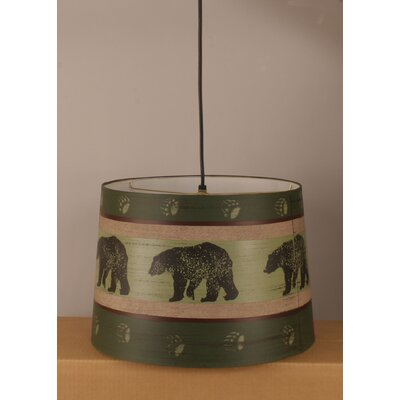 Rustic Living Drum Pendant
