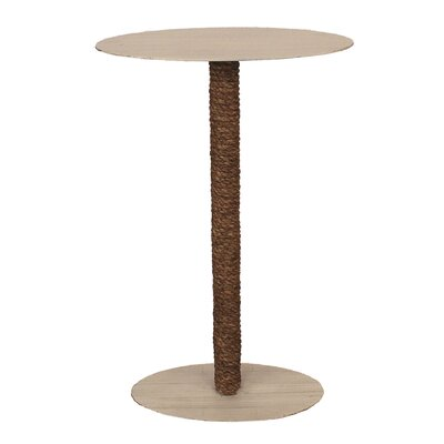 Ellinger Oval Top and Rope Accent End Table