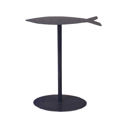 Isaias Fish Top End Table