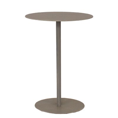 Oval Top End Table