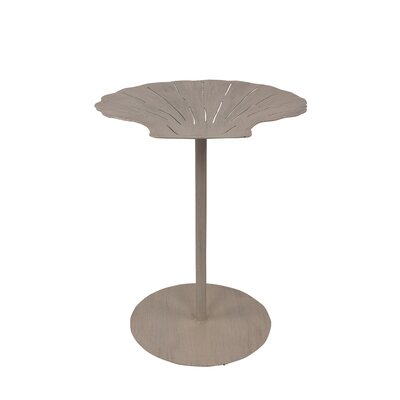 Iniguez Shell Top End Table