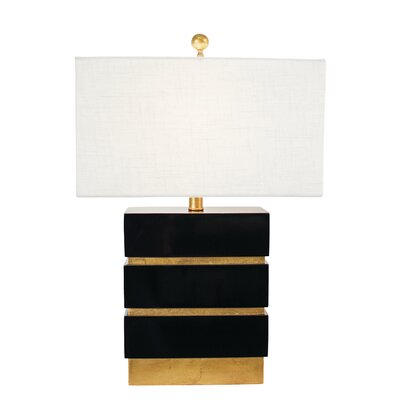 """Couture, Inc. Golden Glamour San Simeon 24"""" Table Lamp"""