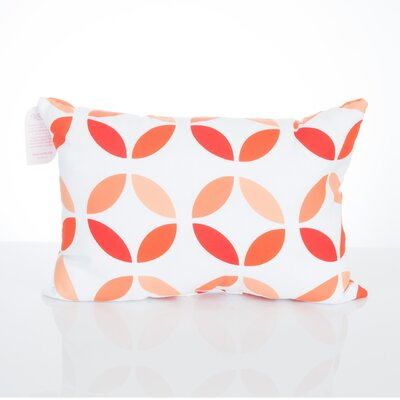 Mod Circles Outdoor Lumbar Pillow Color: Orange