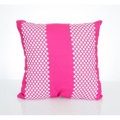 Bullseye Outdoor Throw Pillow Size: 20 H x 20 W x 2 D, Color: Fuchsia
